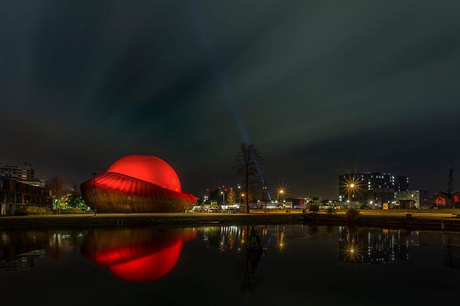 Nacht Infoversum Groningen van Peter Bolman