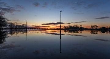 Weerspiegeling / Reflection van Henk de Boer