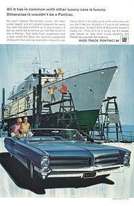 Pontiac-Werbung 60er Jahre