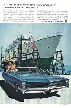 Pontiac reclame 60s van Jaap Ros