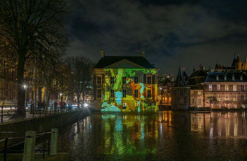 Mauritshuis mit Projektion von Paulus Potter von Marian Sintemaartensdijk
