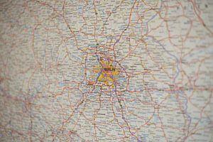 Berlijn op de Autoatlas