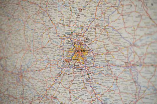 Berlijn op de Autoatlas van World Maps