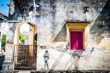 Penang  street art in George Town van Ellis Peeters