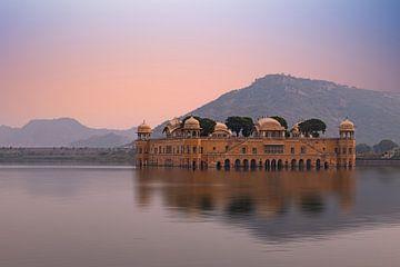 Jal Mahal - Water Palace van Thomas Herzog