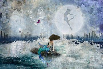 De kleine zeemeermin van MirEll digital art