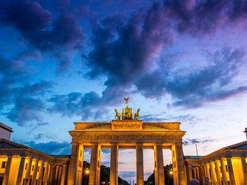 Brandenburg Tor, Berlijn van Ruurd Dankloff