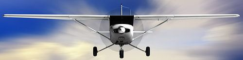Cessna 152 hoog vliegen