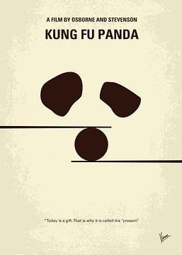 No227 My KUNG FU Panda minimal movie poster van Chungkong Art