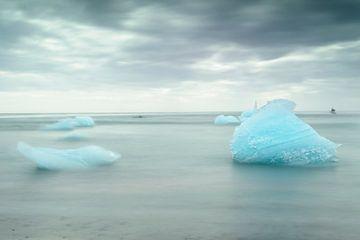 Jokulsarlon, IJsland van Frank Laurens