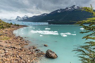 Gletsjer Perito Moreno Argentinie von Trudy van der Werf