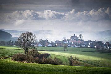 Blick auf die Kapelle Schönberg von Jürgen Schmittdiel Photography