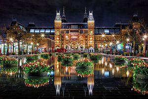 Des tulipes pour le Rijksmuseum d'Amsterdam