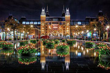 Tulpen für das Rijksmuseum in Amsterdam von Thea.Photo