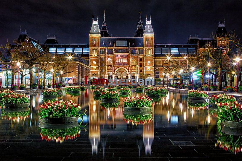 Des tulipes pour le Rijksmuseum d'Amsterdam sur Thea.Photo