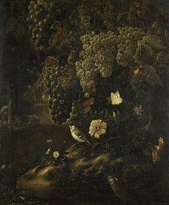 Druiven, bloemen en dieren, Isac Vromans