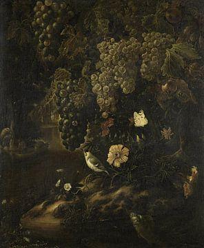 Druiven, bloemen en dieren, Isac Vromans van