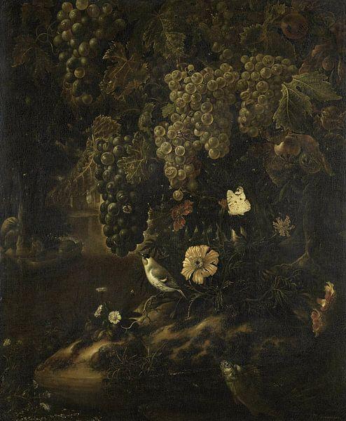 Druiven, bloemen en dieren, Isac Vromans van Meesterlijcke Meesters