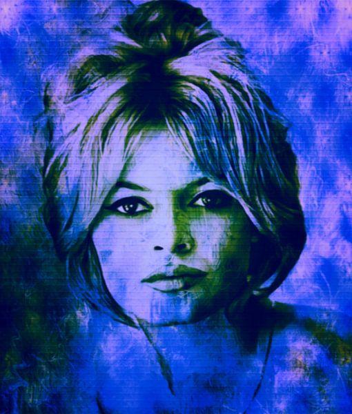 Brigitte Bardot Fashion Pop Art van Felix von Altersheim