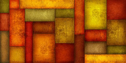 Patchwork patroon van Monika Jüngling