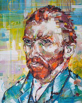 Vincent van Gogh Malerei von Jos Hoppenbrouwers