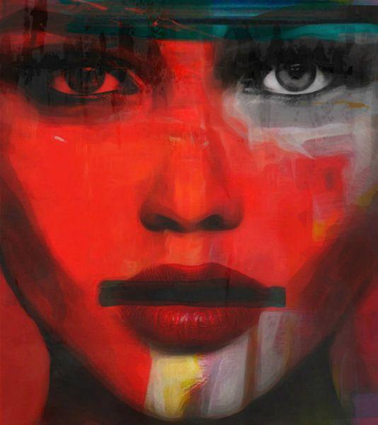 Just Face - Kate Moss - Nobody can stop me von Felix von Altersheim