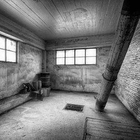 Verlaten fabriek van Marcel van Balken