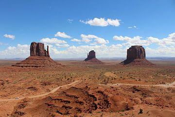 Monument Valley Nationaal Park Verenigde Staten van Berg Photostore