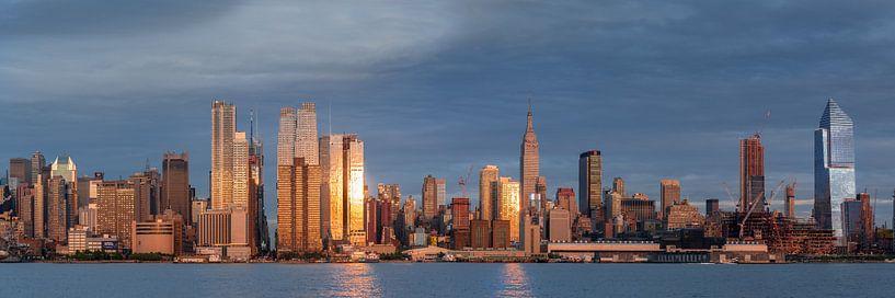 New York  Sonnenuntergang van Kurt Krause