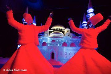Egyptische Dansers In IJs van Koos Koosman