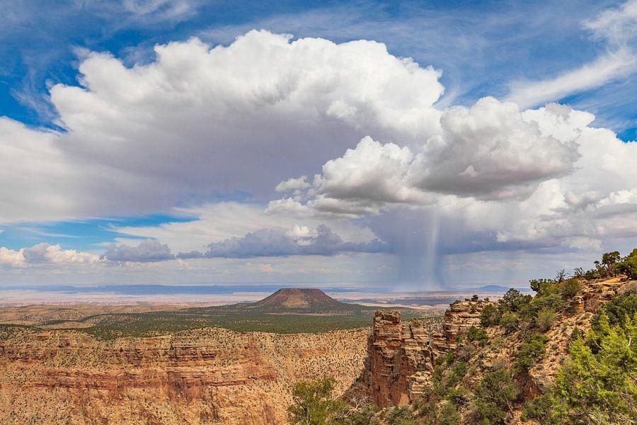 Regen op de Navajo vlakte van Remco Bosshard