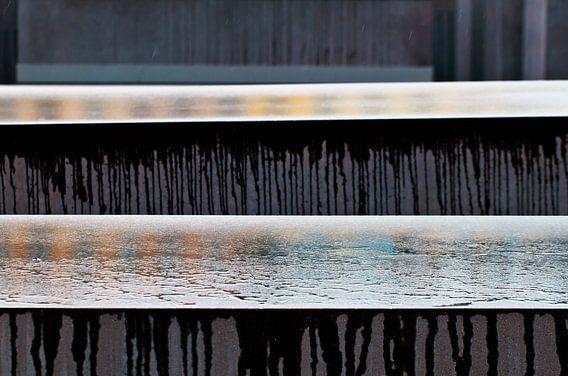 The Holocaust memorial in BERLIN van Silva Wischeropp