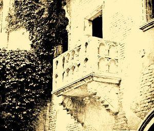 Verona, Italië. Waar is Julia? van