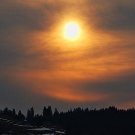Sonnenaufgang in Tauplitz - Steiermark - Österreich von Felina Photography