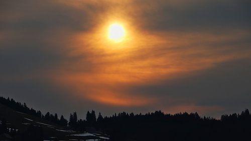 Sonnenaufgang in Tauplitz - Steiermark - Österreich von