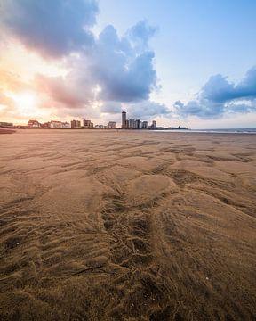 Lijnen in het zand van Huijgens Fotografie