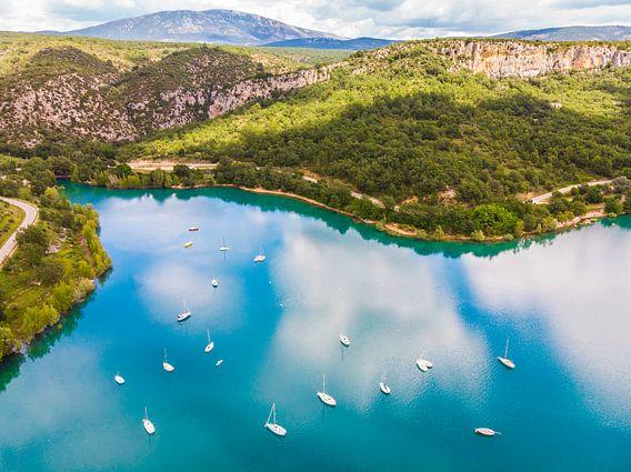 Luchtfotografie om bij weg te dromen.. van Cynthia Hasenbos