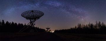 Melkweg Panorama Telescoop van Matthijs Bakker