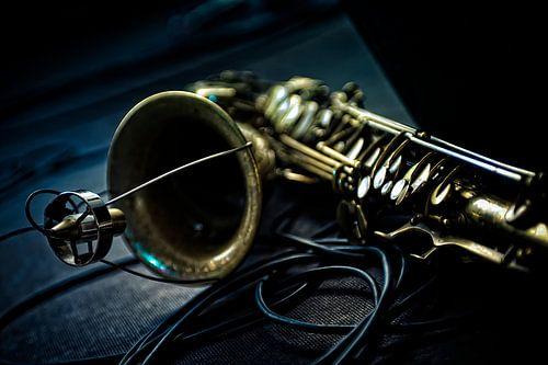 Saxophone van