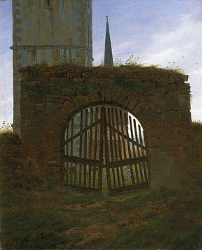 La Porte du Cimetière, Caspar David Friedrich