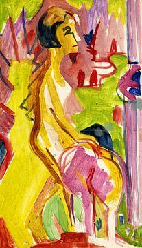 Zwei weibliche Akte, ERNST LUDWIG KIRCHNER, 1926-1928 von Atelier Liesjes