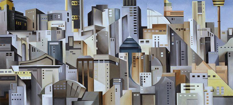 Composition Looking East van Catherine Abel