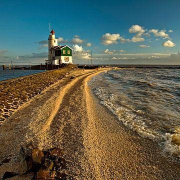 Le phare Marken Pays-Bas sur