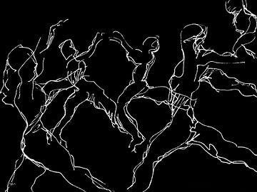 Transparente Tänzer von ART Eva Maria