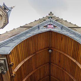 Ingang van het Binnenhof. van Edwin Nagel