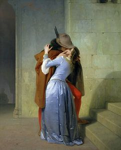 De kus, Francesco Hayez (1859)