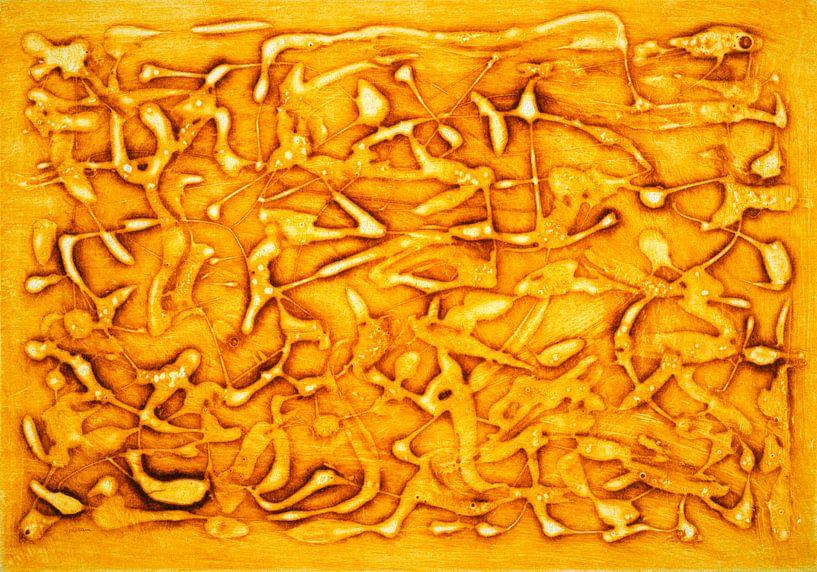 Die Wärme der Farbe Gelb von Godelieve Kunst
