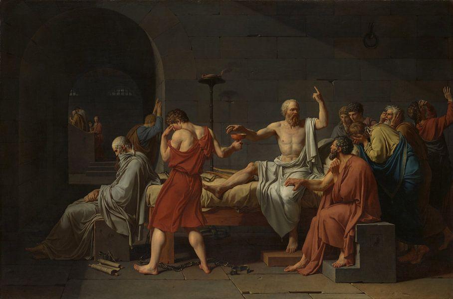 Jacques-Louis David, De dood van Socrates