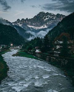 River mountain flow