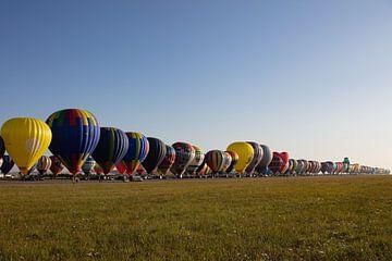 Hete Luchtballon festival van Cornelius Fontaine